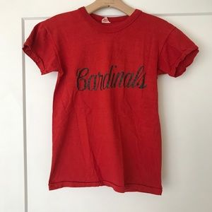 Vintage Cardinals tee • size XS